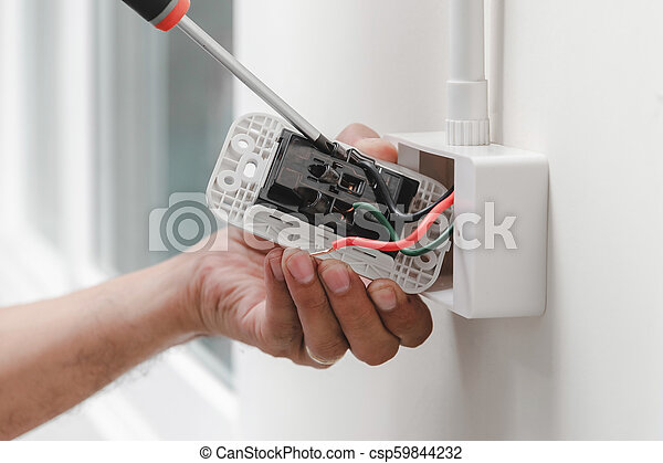 Home electrical system - csp59844232