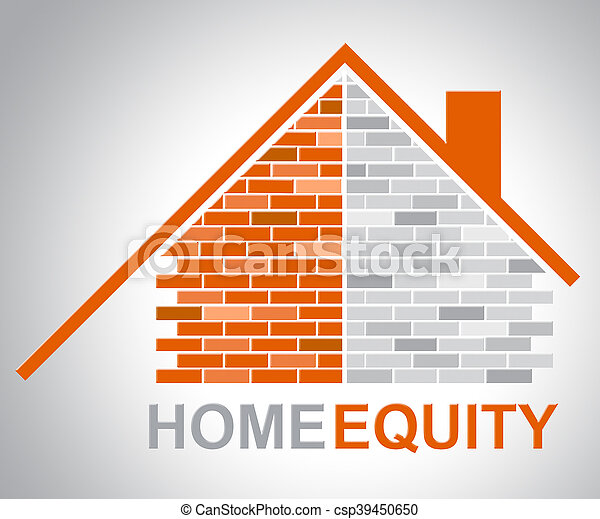 Home Equity Represents Property Value And Assets - csp39450650