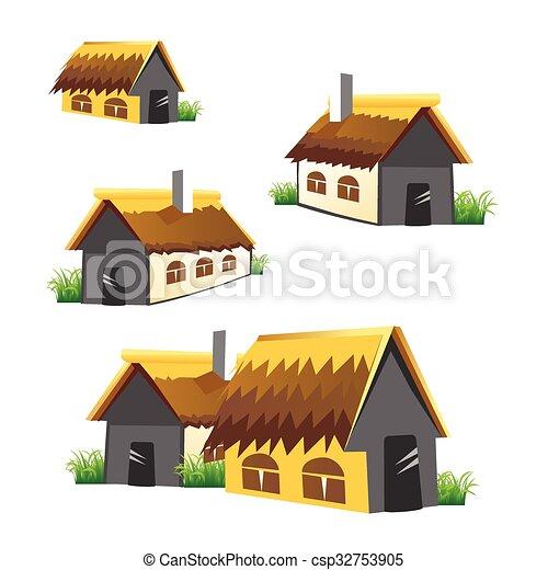 Home farm vector set - csp32753905