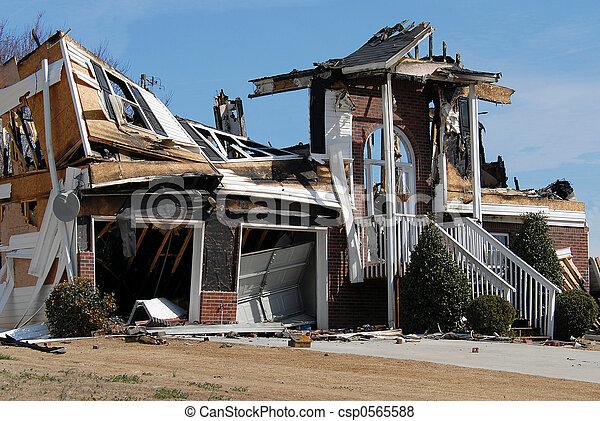 Home Fire - csp0565588