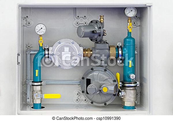 Home gas installation - csp10991390