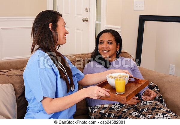 Home Health Care - csp24582301