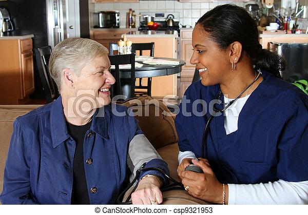 Home Health Care - csp9321953