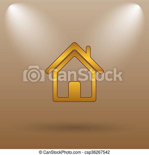 Home icon - csp36267542