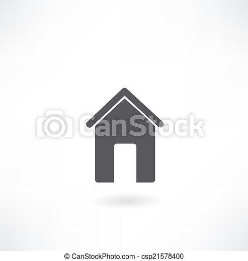 Home icon - csp21578400