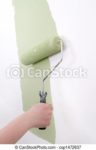 home improvement paint - csp1472637