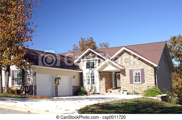 Home in nat. stone - csp0011720