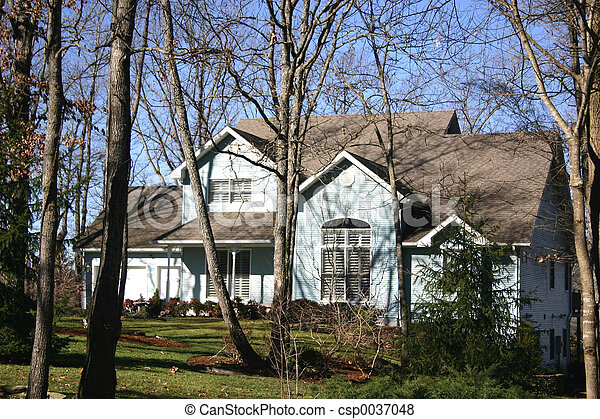Home in trees - csp0037048