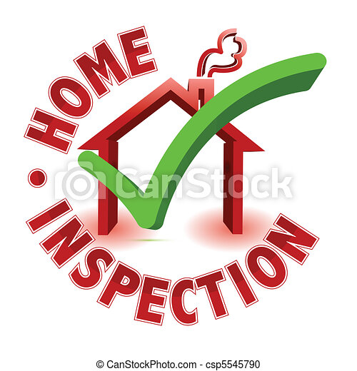 Home Inspection Check Mark In A House Box Surrounded By Vector Clipart Search