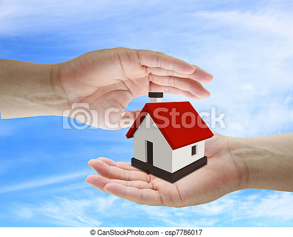 home insurance concept - csp7786017