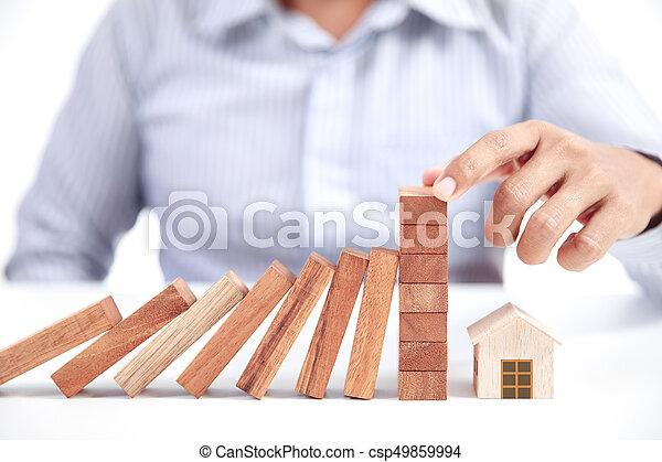 home insurance concept - csp49859994