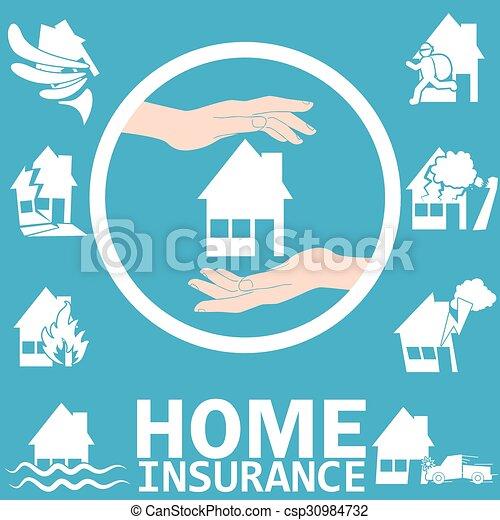 Home insurance  - csp30984732