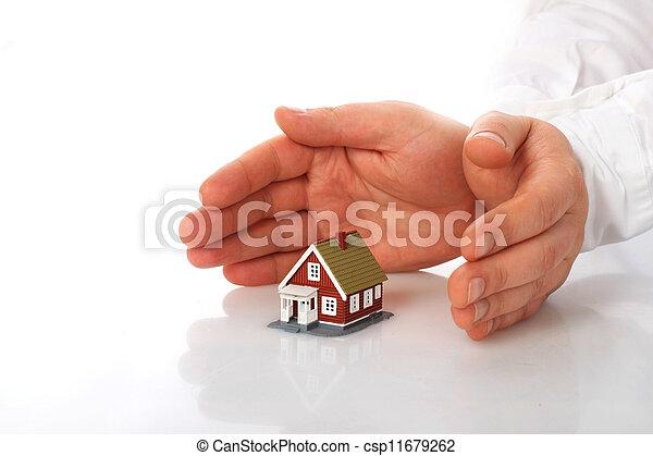 Home insurance. - csp11679262