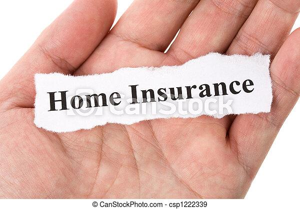 Home Insurance - csp1222339
