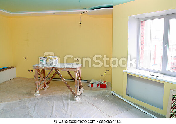 home interior renovation - csp2694463