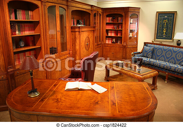 home library - csp1824422