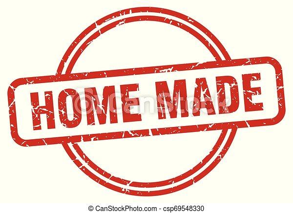 home made grunge stamp - csp69548330