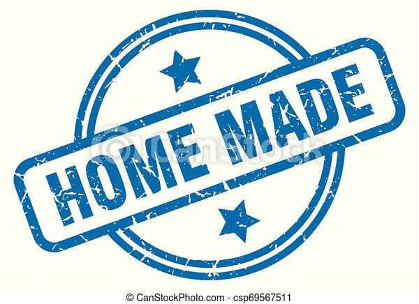home made grunge stamp - csp69567511