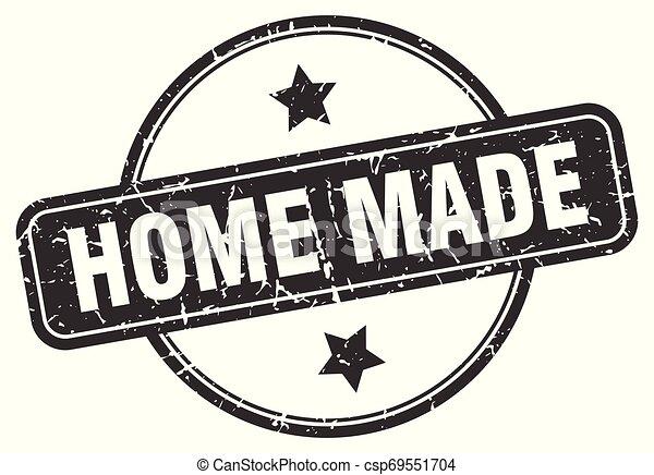 home made grunge stamp - csp69551704