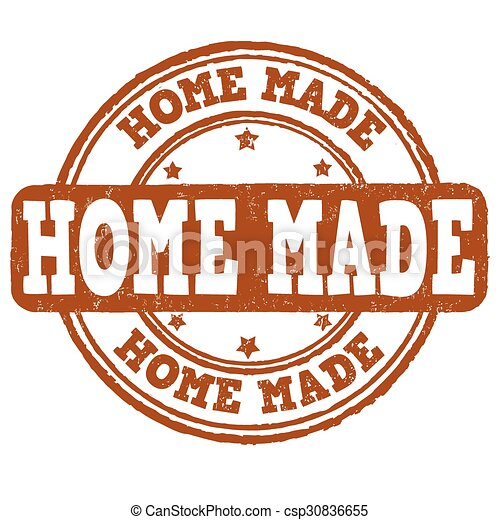 Home made stamp - csp30836655