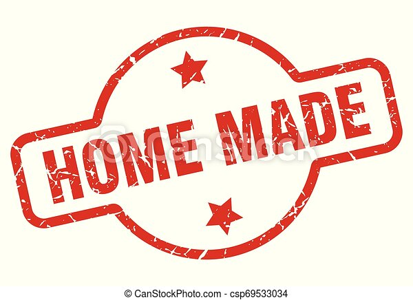 home made stamp - csp69533034
