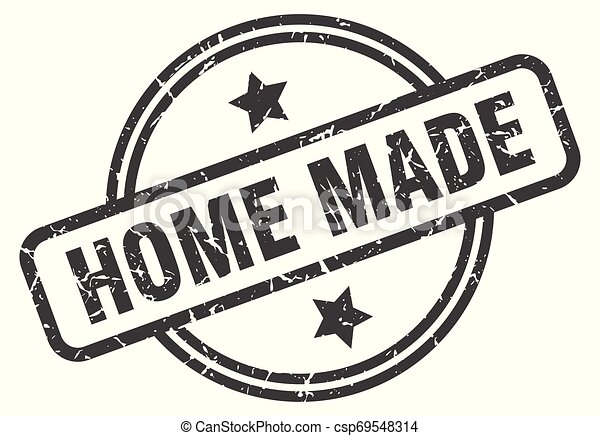 home made stamp - csp69548314