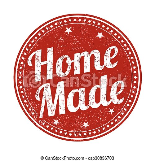 Home made stamp - csp30836703