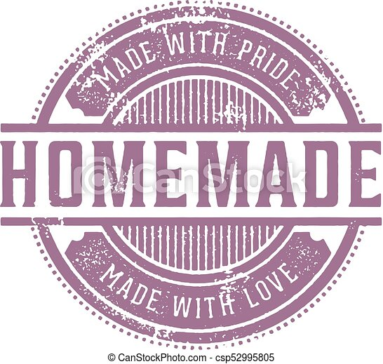 Home Made Vintage Stamp - csp52995805