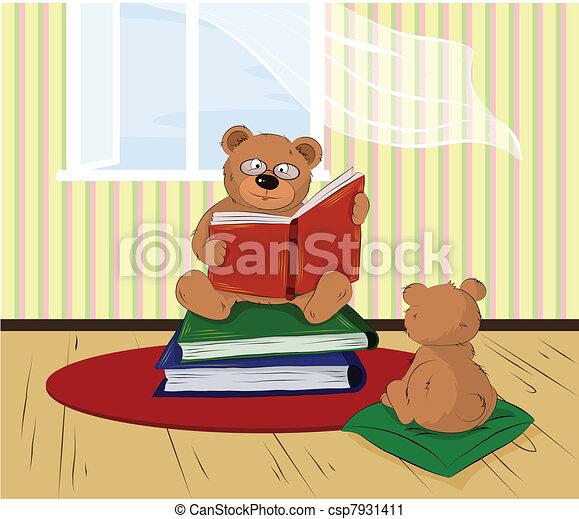 home reading - csp7931411