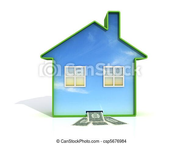 home saving - csp5676984