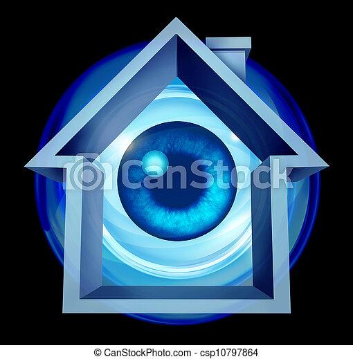 Home Security - csp10797864