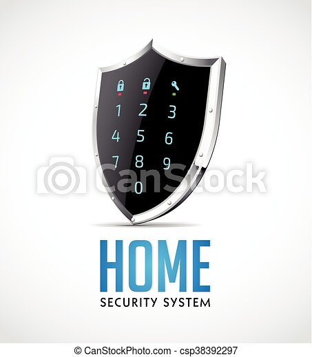 Home security system - csp38392297