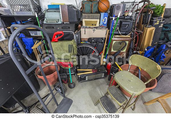 Home Storage Mess - csp35375139