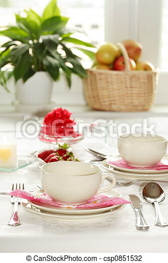 Home table setting - csp0851532