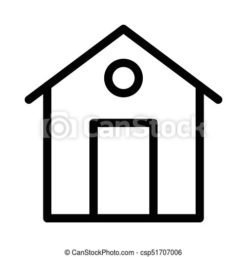 home thin line icon vector clipart search illustration drawings rh canstockphoto com home icon vector ai home icon vector ai