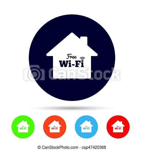 Home Wifi Sign Wifi Symbol Wireless Network Home Wifi Sign Wifi