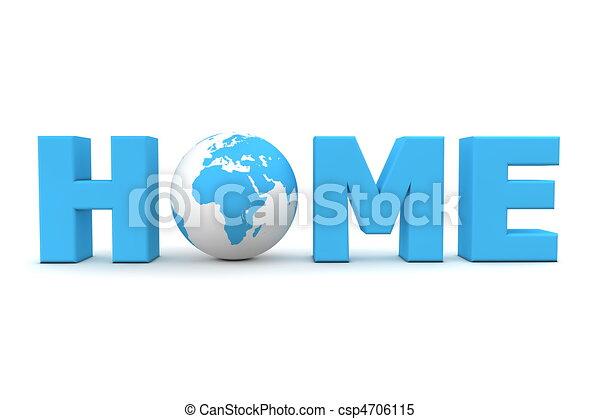 Home World Blue - csp4706115