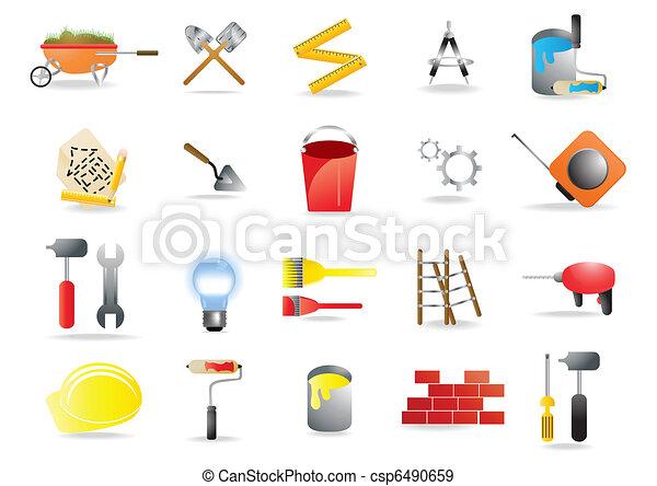 homebuilding-renovating - csp6490659