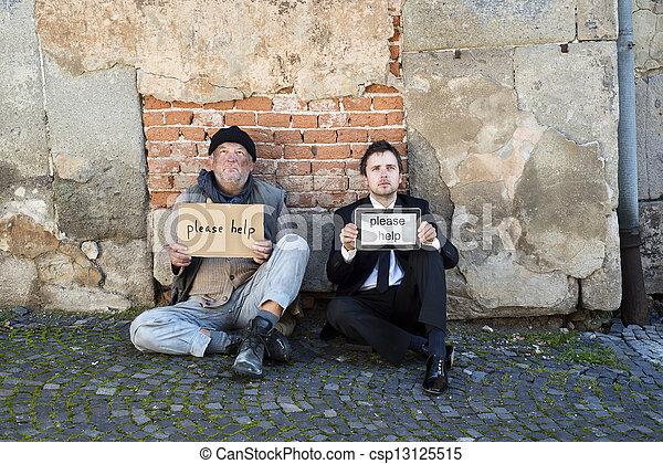 Homeless - csp13125515