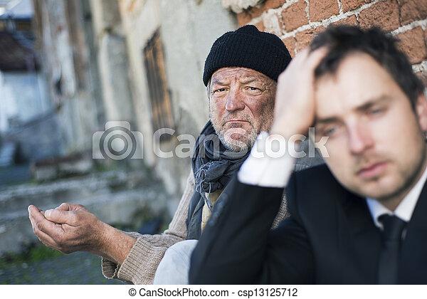 Homeless - csp13125712