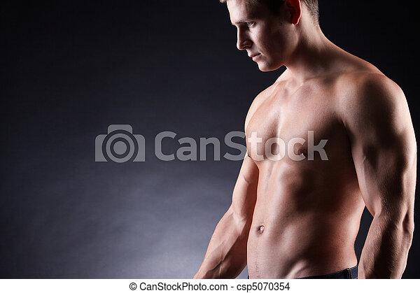 homem forte - csp5070354
