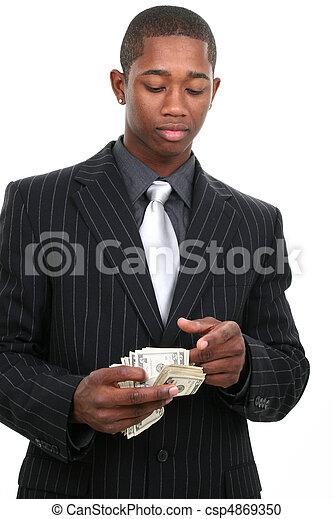 homem negócio - csp4869350