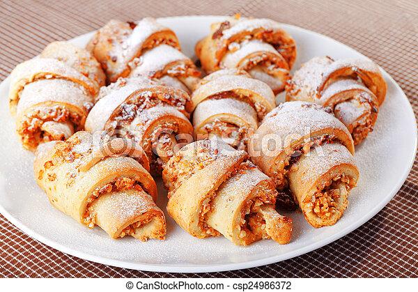 Homemade Croissants - csp24986372