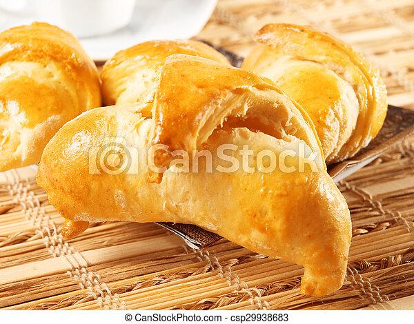 Homemade Croissants - csp29938683