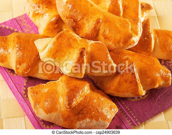 Homemade Croissants - csp24903639