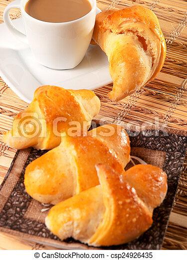 Homemade Croissants - csp24926435