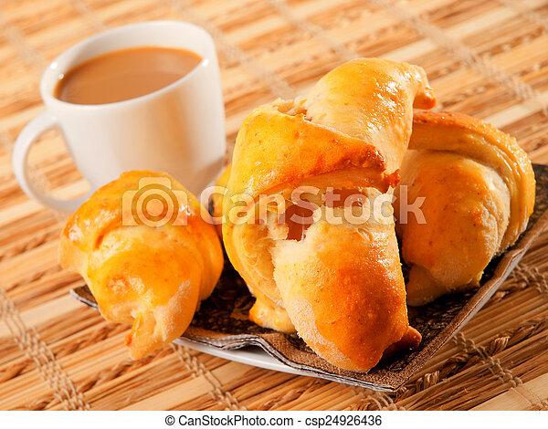 Homemade Croissants - csp24926436