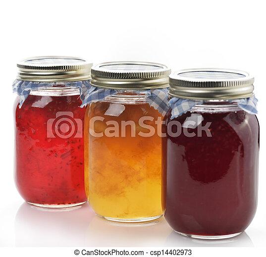Homemade Marmalade And Jam - csp14402973