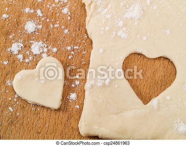 Homemade Valentine's Day Cookies - csp24861963