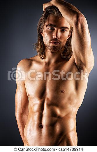 homens, beleza - csp14709914